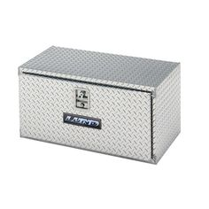 Diamond Plated Lund//Tradesman 8196T 96-Inch Aluminum Top Mount Truck Tool Box Silver