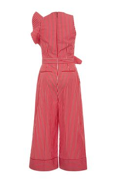 Click product to zoom Estilo Abaya, Chic Outfits, Fashion Outfits, Kids Dress Wear, Playsuits, Jumpsuits, Modern Fashion, Fashion Design, Striped Jumpsuit