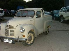 Austin A40 Pick-up   Rare Austin A40 Pick-up 1950's 1.2L Four-Cylinder OHV engine