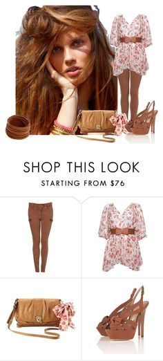 """""""ù.ù"""" by piccolachic ❤ liked on Polyvore featuring Rebecca Taylor and Linea Pelle"""