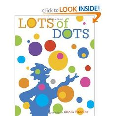 In this exuberant book, acclaimed graphic designer Craig Frazier does more than simply showcase a vast variety of dots, he encourages young readers to look closely at the world around them. Through his energetic images, the ordinary becomes extraordinary. Buttons are dots. Wheels are dots. Ladybugs have dots. And so do the fried eggs on your plate. Lots of Dots is lots of fun!