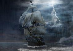 Sailing Ship Storm - Widescreen Wallpapers (15368) ilikewalls.