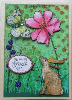 Sophie's Art: Frühlingserwachen  -  spring awakening