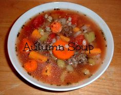 Autumn Soup on MyRecipeMagic.com