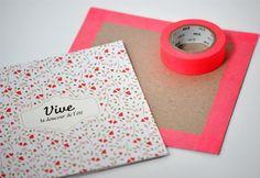 masking tape enveloppe