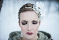 winter-bridal-beauty-look. Smokey eyes and wine-stained lips look fresh against the white:) Bridal Beauty, Wedding Beauty, Wedding Shoot, Wedding Dresses, Wedding Ideas, Winter Wedding Inspiration, Bridal Fashion Week, Makeup Inspiration, Hair Makeup
