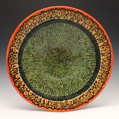 Pittsburgh Pottery - Vibrant bowl