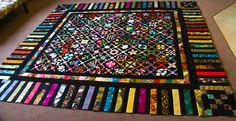"""Cabot Cuties Design from Sentimental Stitches......finally ready to quilt 15 months later....196 x 4"""" blocks"""