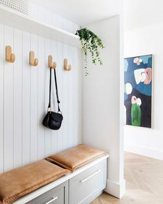 "Adore Home Magazine on Instagram: ""Our brand new Winter 2019 issue is all about small homes and smart storage solutions - like this clever little mudroom designed by…"""