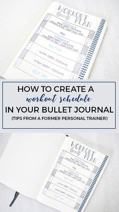 Create a Workout Schedule in Your Bullet Journal http://productiveandpretty.com/create-workout-schedule/?utm_campaign=coschedule&utm_source=pinterest&utm_medium=Liz%20and%20Jen%20%40%20Productive%20and%20Pretty&utm_content=Create%20a%20Workout%20Schedule%20in%20Your%20Bullet%20Journal