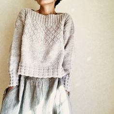 Ravelry: Oldies pattern de rie vive - Tricot et Crochet Sweater Knitting Patterns, Knit Patterns, Free Knitting, Afghan Patterns, Dress Patterns, Ravelry, How To Purl Knit, Look Fashion, Knit Fashion