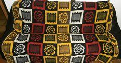 retro vintage blankets dekens wolldecken 50s