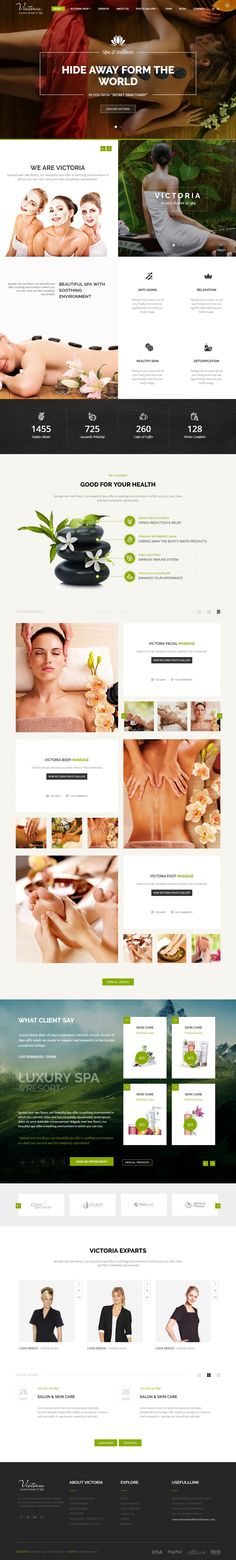 Victoria Luxury Resort & Spa - HTML Template