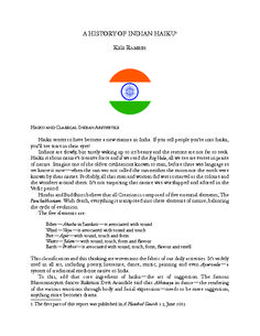 #Share THF World of #Haiku #India #history in english.pdf #poetry