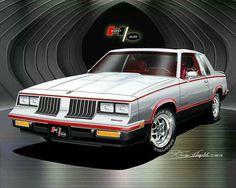 1984 Oldsmobile Hurst Olds Hurst Oldsmobile, Oldsmobile Cutlass Supreme, Oldsmobile Toronado, General Motors Cars, Cool Old Cars, Gm Car, Street Racing Cars, Pt Cruiser, Car Advertising