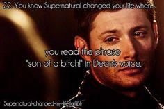 Dean's voice