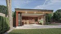 The Moonlight is our flagship garden room from our signature range of designs the uses are limitless. Taking its inspiration from one of our bespoke garden rooms this unique structure maximises sunlight with a corner bi -folding door system. As with our entire range of garden rooms a variety of different cladded finishes can be used. All of our garden rooms can be tailored to fit your needs and own unique taste.. This room is complemented with stone cladding.. the choice is yours.. Beautiful Gardens, Beautiful Homes, California Room, Stone Cladding, Planning Permission, Cinema Room, Garden Office, Space Crafts, Reading Room