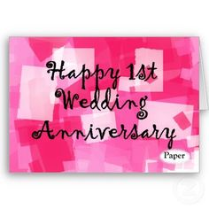 The 49 best anniversary images on pinterest in 2018 birthday first wedding anniversary card m4hsunfo