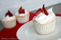 angel food cupcakes - only 60 calroies each
