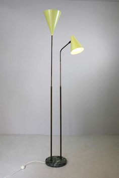 Floor Lamp by Guiseppe Ostuni & Renato Forti   From a unique collection of antique and modern floor lamps  at https://www.1stdibs.com/furniture/lighting/floor-lamps/
