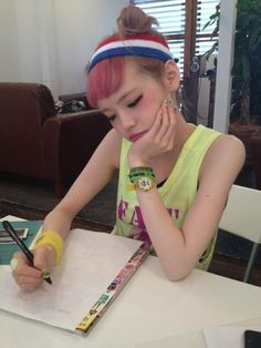 Seto Ayumi Cute Asian Girls, Cute Girls, Hair Blog, Harajuku Fashion, Ulzzang, Your Hair, Teen, Hair Styles, Lunch Time