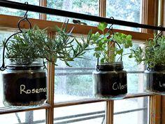DIY Indoor Hanging Herb Garden Tutorial   Quick And Simple!