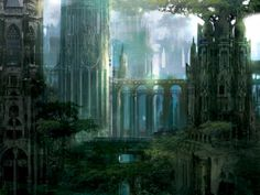 Ravnica Forest by Stephan Martiniere