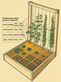 Kent Bahçeleri Tasarım Örnekleri