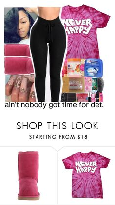 """""""uggs contest"""" by geazybxtch24 ❤ liked on Polyvore featuring UGG Australia and Grotesk"""