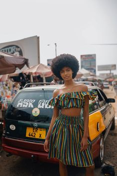 Ebonee Davis on Reclaiming Her African Identity and Seeing Ghana for the First Time Model Ebonee Dav Black Power, African Beauty, African Fashion, Ghana Fashion, Black Girl Magic, Black Girls, Art Noir, Black Girl Aesthetic, 4c Hair