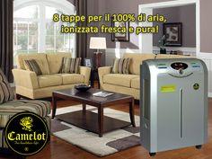 Purificatore dell'aria Imperial Tech Executive! 8 tappe per il 100% di aria ionizzata fresca e pura. Outdoor Furniture Sets, Outdoor Decor, Aktiv, Filters, Tech, Cleaning, Asthma, Breathe, Flare