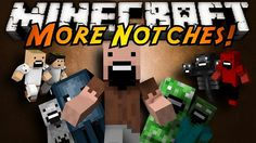 New post (More Notches Mod 1.6.2) has been published on More Notches Mod 1.6.2  -  Minecraft Resource Packs