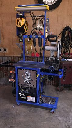 Beneficent consolidated diy welding projects ideas Order now. Get it before Christmas. Welding Bench, Welding Cart, Welding Jobs, Metal Welding, Diy Welding, Welding Ideas, Welding Shop, Welding Aluminium, Cool Welding Projects