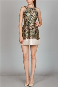 Get this dress 20% off going on site-wide! + receive $15 store credit after first purchase!