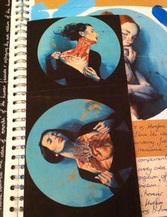 Fernando Vicente Vanitas- sketchbook clipping. Chynna Davies Sketchbook Layout, Sketchbook Pages, Vanitas, Walks, Art, Art Background, Kunst, Performing Arts, Art Sketchbook