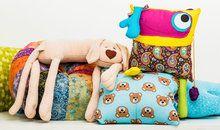 Almofadas decorativas, criativas e versáteis com Regina Fonseca