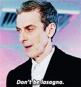 Some wisdom from the 12th Doctor.