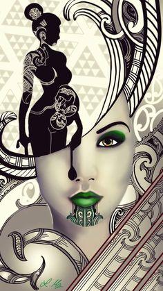 maori tattoos artist in london New Zealand Tattoo, New Zealand Art, Nz Art, Art For Art Sake, Tahiti, Body Art Tattoos, Maori Tattoos, Key Tattoos, Skull Tattoos