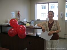 Reeves College, Edmonton City Centre Open House on September 5, 2013 - Posing with Red Balloons Subscribe to the Reeves College Youtube channel:  http://www.youtube.com/subscription_center?add_user=ReevesCollege #ReevesCollege  #Edmonton #CityCentre #OpenHouse #September5 #2013 #Posing #with #Red #Balloons