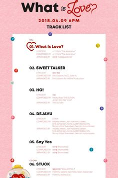 "TWICE - 5th Mini Album ""What is Love?"""