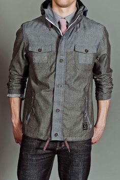 LIGHTWEIGHT DECK JACKET