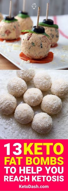 The ketogenic diet can be tough at times because of the number of fats you need to eat can be very high. These 13 keto fat bombs are going to make reaching that high number much easier and help your body reach ketosis.