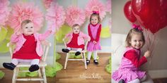valentines day mini sessions photos paper flowers. Rebecca Keller Photography. Raleigh Baby Photographer
