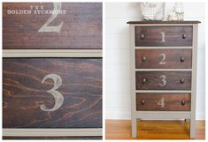 The Golden Sycamore: Numbered Bathroom Cabinet