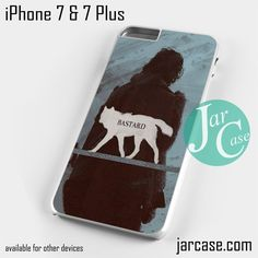 Game of Thrones Jon Snow - Z Phone case for iPhone 7 and 7 Plus