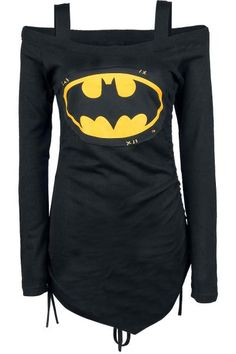 Night Shadow - Girls longsleeve by Batman - Article Number: 271883 - from 53.99 € - EMP Merchandising ::: The Heavy Metal Mailorder ::: Merchandise Shirts and More