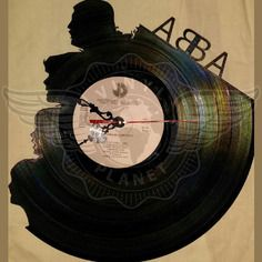 20,50 € Horloge vinyle décoration ABBA Record Art, Profile View, Kinds Of Music, Boutique, Lps, Vinyl Records, Animals And Pets, Vintage, Wall Clocks