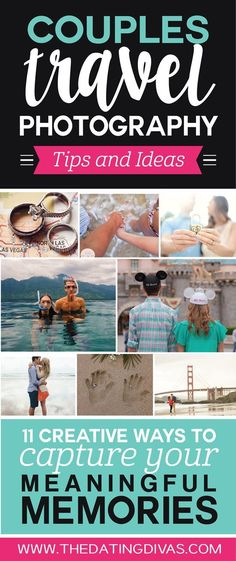 Couples Travel Photography Tips and Ideas- sooo many fun ideas!!!
