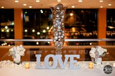 Placecard table detail.  Photo by David E. Starke Photography