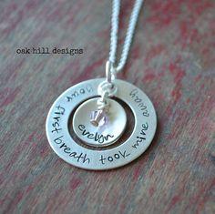 oak hill designs - Estherville, Iowa. Custom hand stamped jewelry.